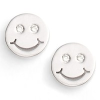 Women's SHY by Sydney Evan 'Happy Face' Stud Earrings