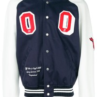 Temperature Collection Varsity Jacket by OFF WHITE