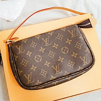 LV New fashion monogram leather shoulder bag crossbody bag