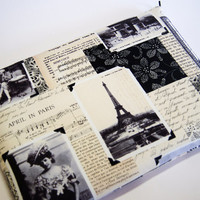 """I Miss You, Paris   11, 13 inch  Macbook  Air Laptop  or Any Your Laptop or Notebook up 13"""" sleeve cover Made to Order case"""