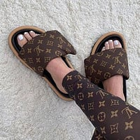 LOUIS VUITTON LV Fashion casual shoes and slippers Shoes