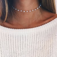 Beaded Chain Choker