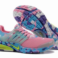 """""""Nike Air Presto"""" Women Sport Casual Multicolor Camouflage Breathable Sneakers Running Shoes"""