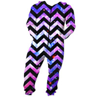 Chevron and galaxy Onesuit