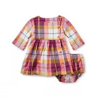 Faodail Flannel Baby Dress