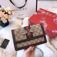 GUCCI Queen Margaret GG mini bag
