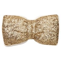 The Emily + Meritt Sequin Bow Pillow