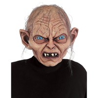 The Lord of the Rings Gollum Costume Mask - Adult (Grey)