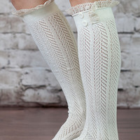 The Original Button Lace Boot Socks