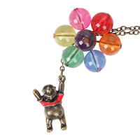 Disney Winnie The Pooh Balloons Necklace
