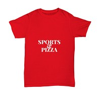 Sports And Pizza Foodie Fans T-Shirt