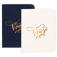 Wedding Vows Notebook Set