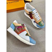 lv louis vuitton womans mens 2020 new fashion casual shoes sneaker sport running shoes 245