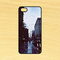Rain in the City Phone Case iPhone 4 / 4s / 5 / 5s / 5c /6 / 6s /6+ Apple Samsung Galaxy S3 / S4 / S5 / S6