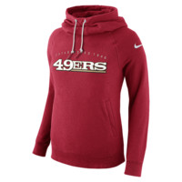 Nike Everyday Rally Funnel Pullover (NFL 49ers) Women's Hoodie Size Small (Red)