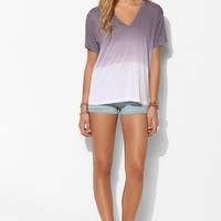 Pencey Standard Dip-Dye V-Neck Tee - Urban Outfitters