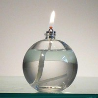 Firefly Refillable Liquid Bliss Petite Oil Lamp Candle