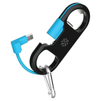 Kanex Gobuddy+ Lightning To Usb Charge & Sync Cable With Bottle Opener (blue)