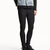 Trousers Super Skinny fit - from H&M