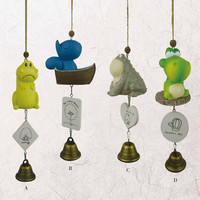 Abstract Animal Wind Bell Innovative Resin Crafts Home Decor [6281779846]