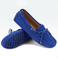 Shoes Woman 2016 100% Genuine Leather Women Flat Shoes 17 Colors Casual Loafers Women Shoes Flats Moccasins Lady Driving Shoes