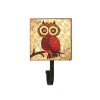 Big Eyes Owl Wall Mounted Hook
