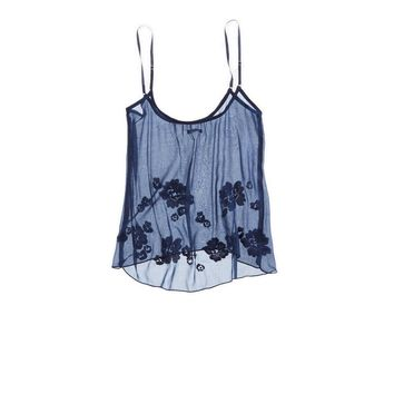 Aerie Floral Chiffon Tank | Aerie for American Eagle