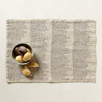 Blue Point Placemats by Anthropologie Neutral One Size Kitchen
