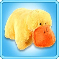 Pillow Pets®  Folding Plush :: Puffy Duck - My Pillow Pets® | The Official Home of Pillow Pets®