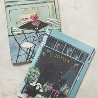 Charlotte Hardy Cafe Jotter Journals in Light Red Size: Set Of 2 Gifts