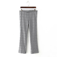 Summer Women's Fashion Casual Stylish Zippers Pants [4919969284]