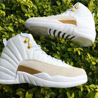Air Jordan 12 Retro OVO White 873864-102