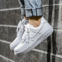 NIKE Women Men Running Sport Casual Shoes Sneakers Air force White I