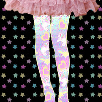 Sweetie Dreams Tights by kawaiigoods on Etsy