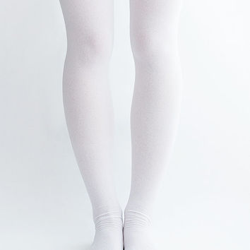 Women Lady New Hezwagarcia Must Have Essential Sunny Cute Polyester Long Over Knee Socks Tights One Size in White