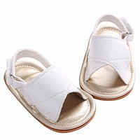 2016 Summer Cool Toddler Zapatos Bebe PU Leather Baby Girl First Walkers,Kid Christening Baptism Soft Sole Girl Toddler Shoes