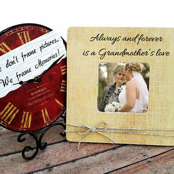 Mom photo frame, Mother's day gift, gift for grandma