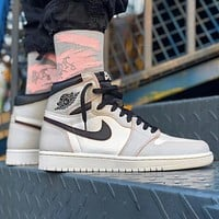 Air Jordan 1 OG AJ1 Fashion Women Men Casual Sport Basketball Shoes