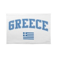 Greece + Flag Placemats