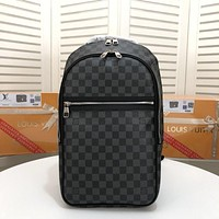 LV Louis Vuitton MEN'S DAMIER CANVAS Michael BACKPACK BAG