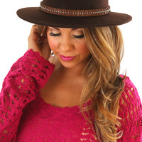 Wild Wild West Hat: Chocolate - One
