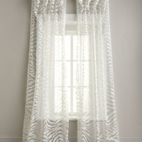 Isabella Collection by Kathy Fielder Zebra Sheer Curtains