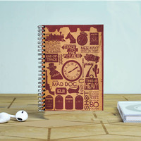 Back To The Future Items Photo Notebook Auroid