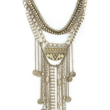Royal Bohemian Statement Necklace
