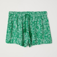 Patterned Shorts - Coral - Ladies | H&M US