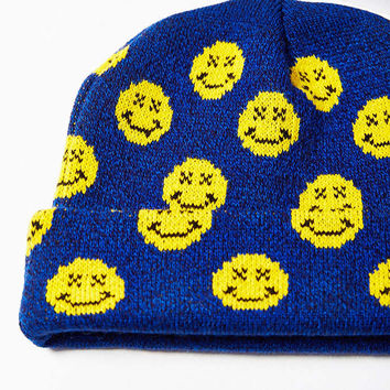 Smile Beanie - Urban Outfitters