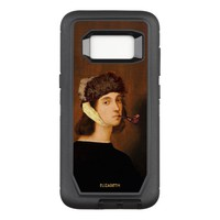 Raphael Self Portrait With Van Gogh Hat And Pipe OtterBox Defender Samsung Galaxy S8 Case