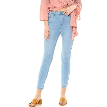 Molly High Waist Ankle Jeans
