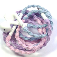 Pixie Dust | Tangle Free Custom Wrapped Earbuds