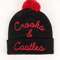 Crooks and Castles Knit Pom Beanie at PacSun.com
